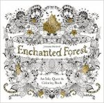 Johanna Basford - Enchanted Forest colouring book