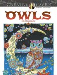 Marjorie Sarnat - Owls colouring book
