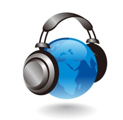3D-Earth-Globe-With-Headphones-Vector-Graphic