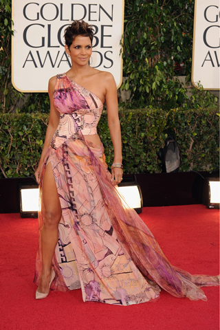 Halle Berry, in Atelier Versace