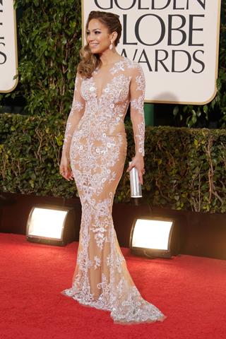 Jennifer Lopez, in Zuhair Murad Haute Couture