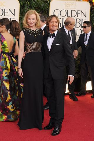 Nicole Kidman, in Alexander McQueen