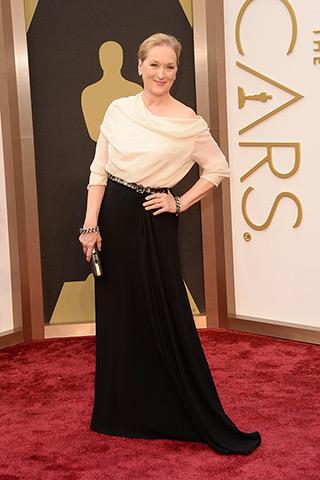 Meryl Streep, in Lanvin.