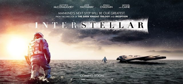 Interstellar poster wide