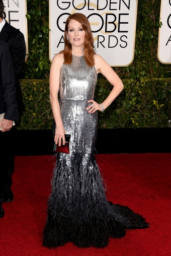 Julianne Moore, in Givenchy Haute Couture