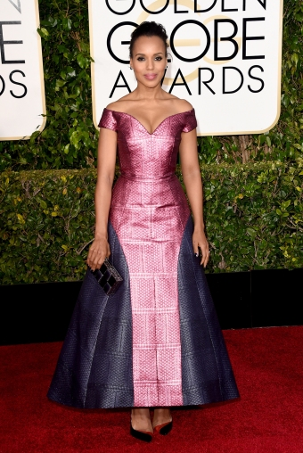 Kerry Washington, in custom Mary Katrantzou
