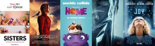 2015. gada filmas - vilšanās
