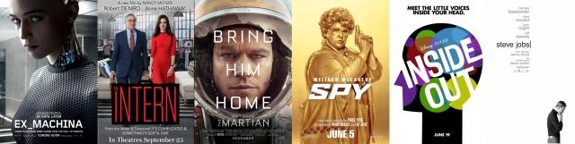 2015. gada labākās filmas, patīkamākie kino pārsteigumi