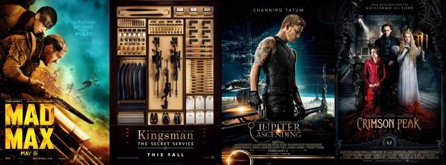 2015. gada labāko filmu tops - krāšņākie specefekti un vizuāli saistošākās filmas