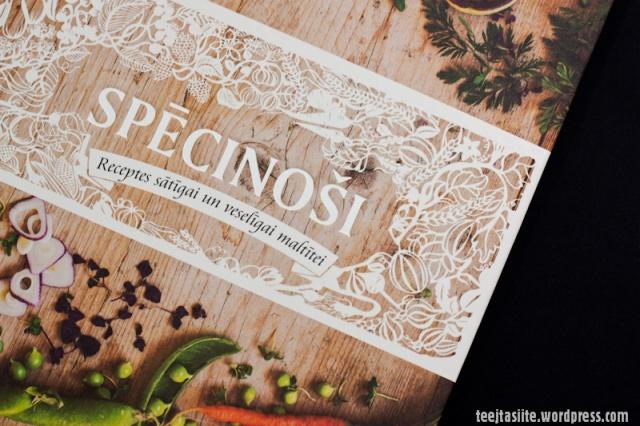 Pavārgrāmata Spēcinoši, recenzija Tējtasītes blogā
