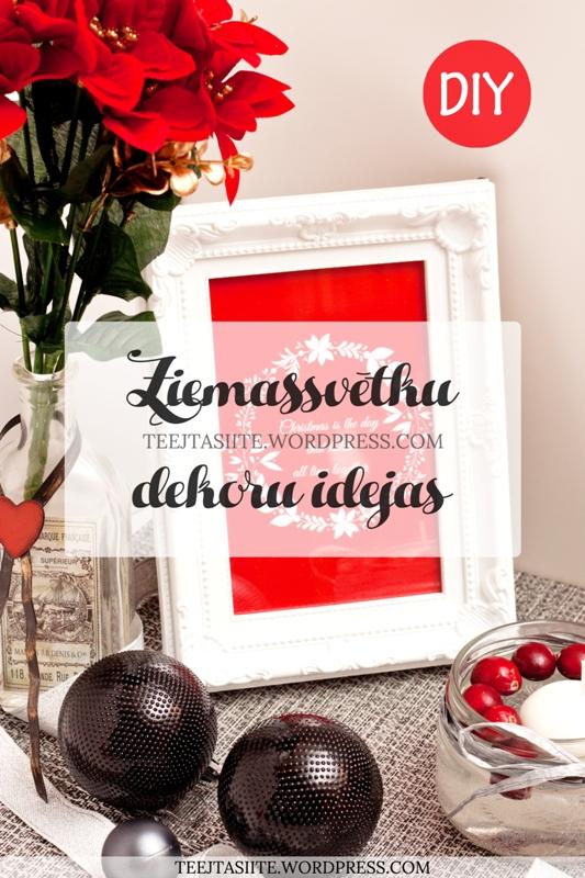 Ziemassvētku dekoru idejas