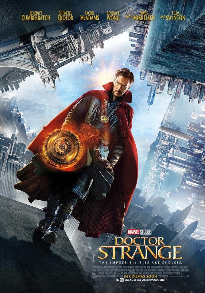 Filmas Doktors Streindžs (Doctor Strange) plakāts