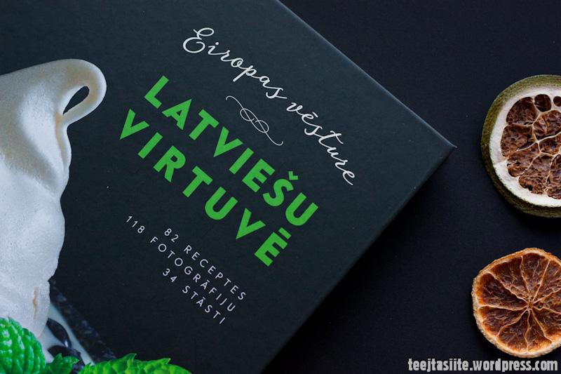 Eiropas vēsture latviešu virtuvē - grāmatas vāks, foto: Tējtasīte