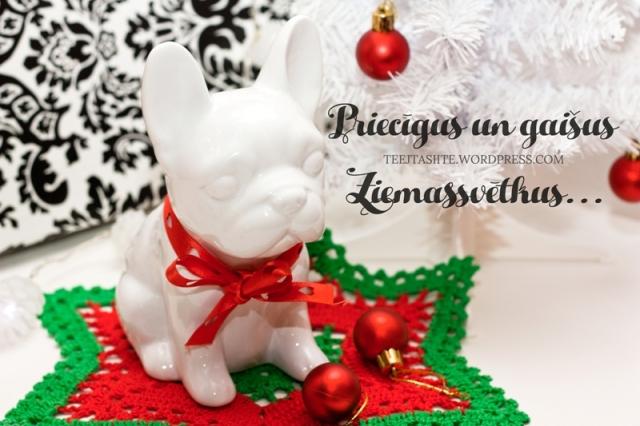 Priecīgus Ziemassvētkus novēl Tējtasītes blogs