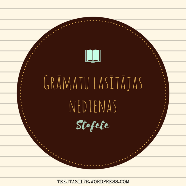 Grāmatu blogu stafešu raksts - jautājumi par lasīšanas problēmām