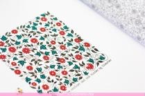 Krāsojamā grāmata pieaugušajiem. Džoanna Basforda - Pasakainais dārzs (Secret Garden) - mandala-kvadrāts