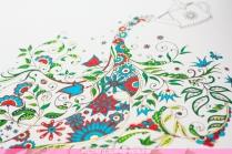 Krāsojamā grāmata pieaugušajiem. Džoanna Basforda - Pasakainais dārzs (Secret Garden) - lejkanna
