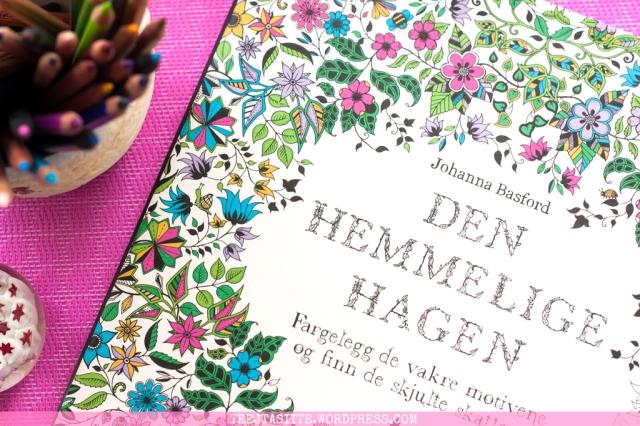 Krāsojamā grāmata pieaugušajiem. Džoanna Basforda - Pasakainais dārzs (Secret Garden), vāka attēls