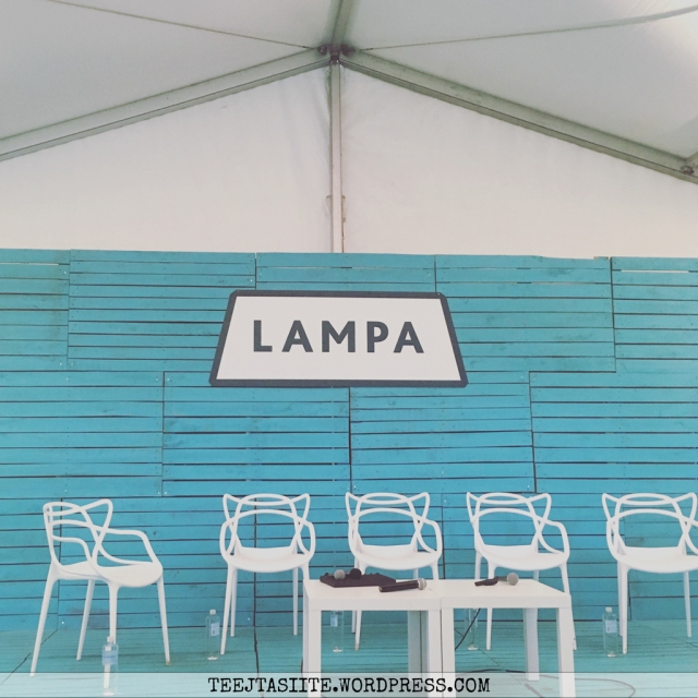 Sarunu festivāls LAMPA 2017 Cēsīs - diskusiju skatuve