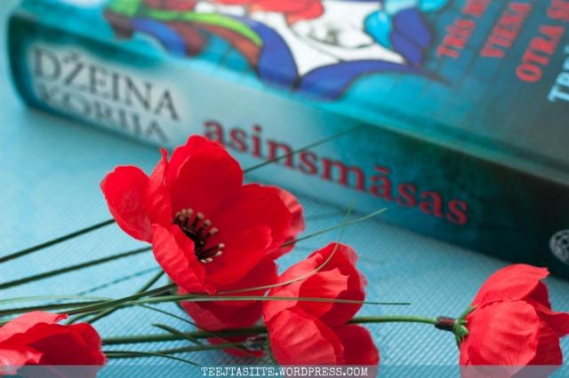 Džeinas Korijas romāns Asinsmāsas (Bloodsisters)
